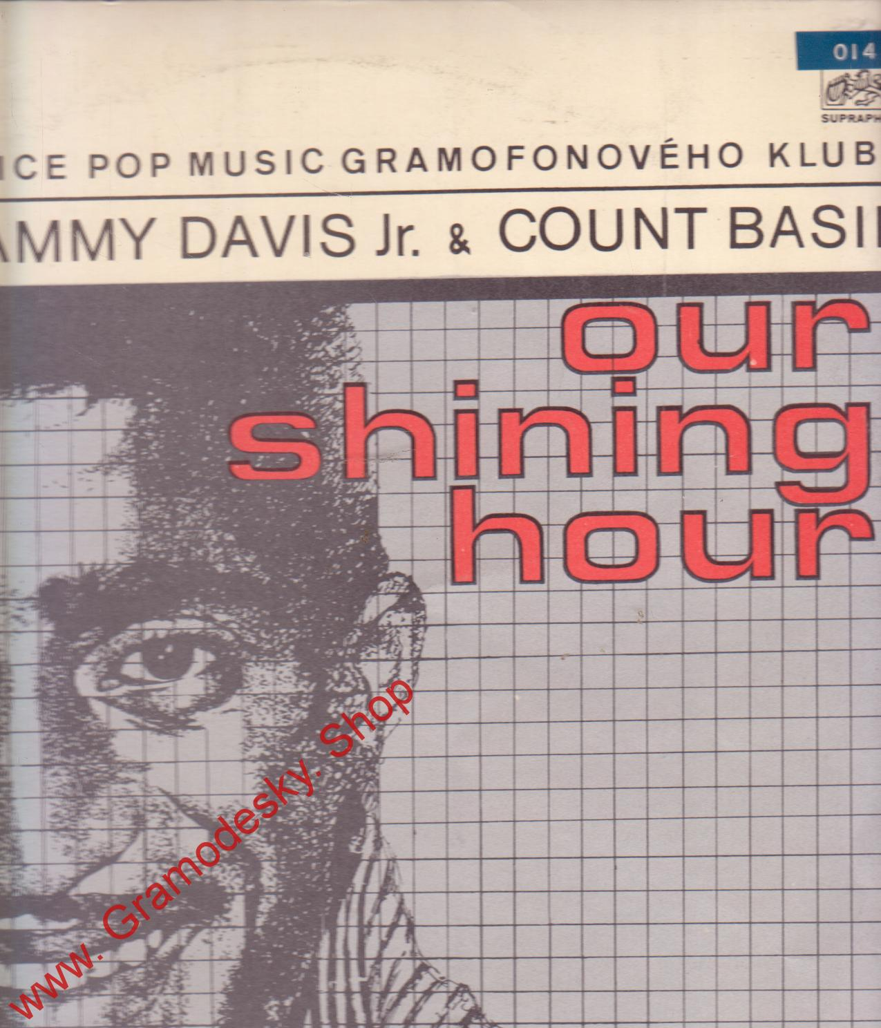 LP Sammy Davis Jr. a Count Basie, Our Shining Hour, 1969, 1 13 0644 stereo