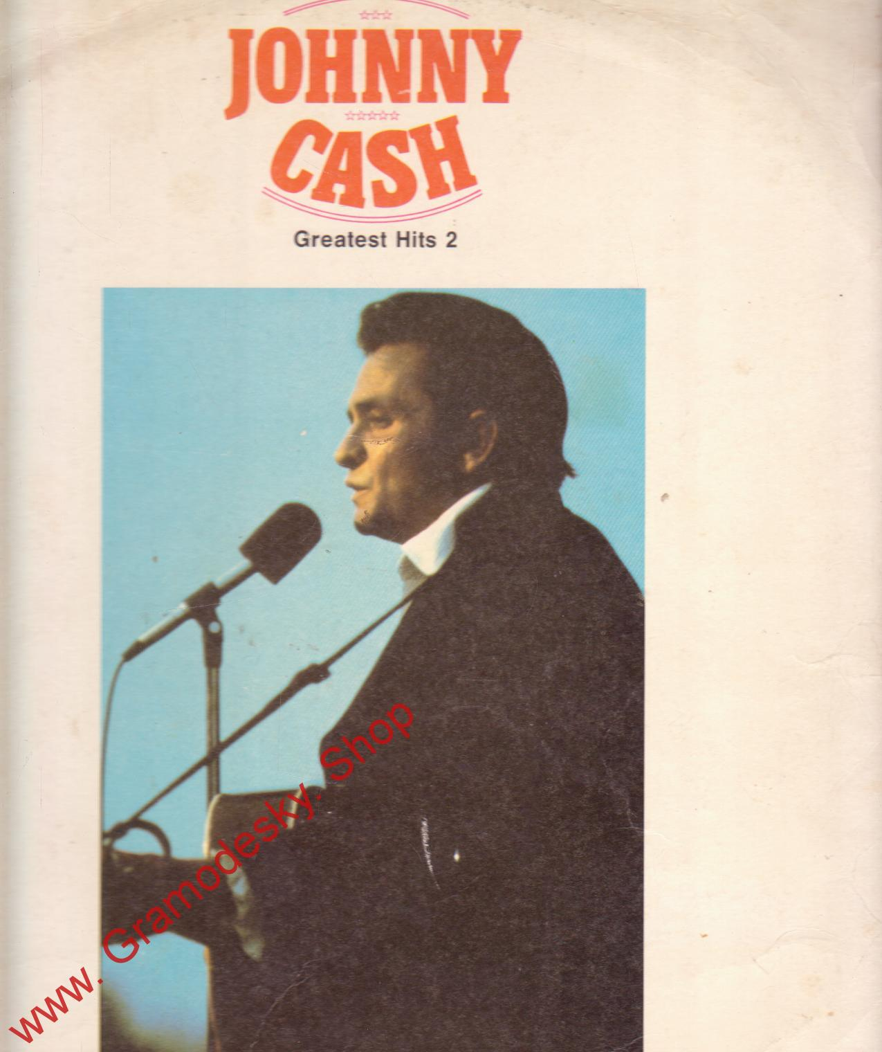 LP Johnny Cash - Greatest Hits 2