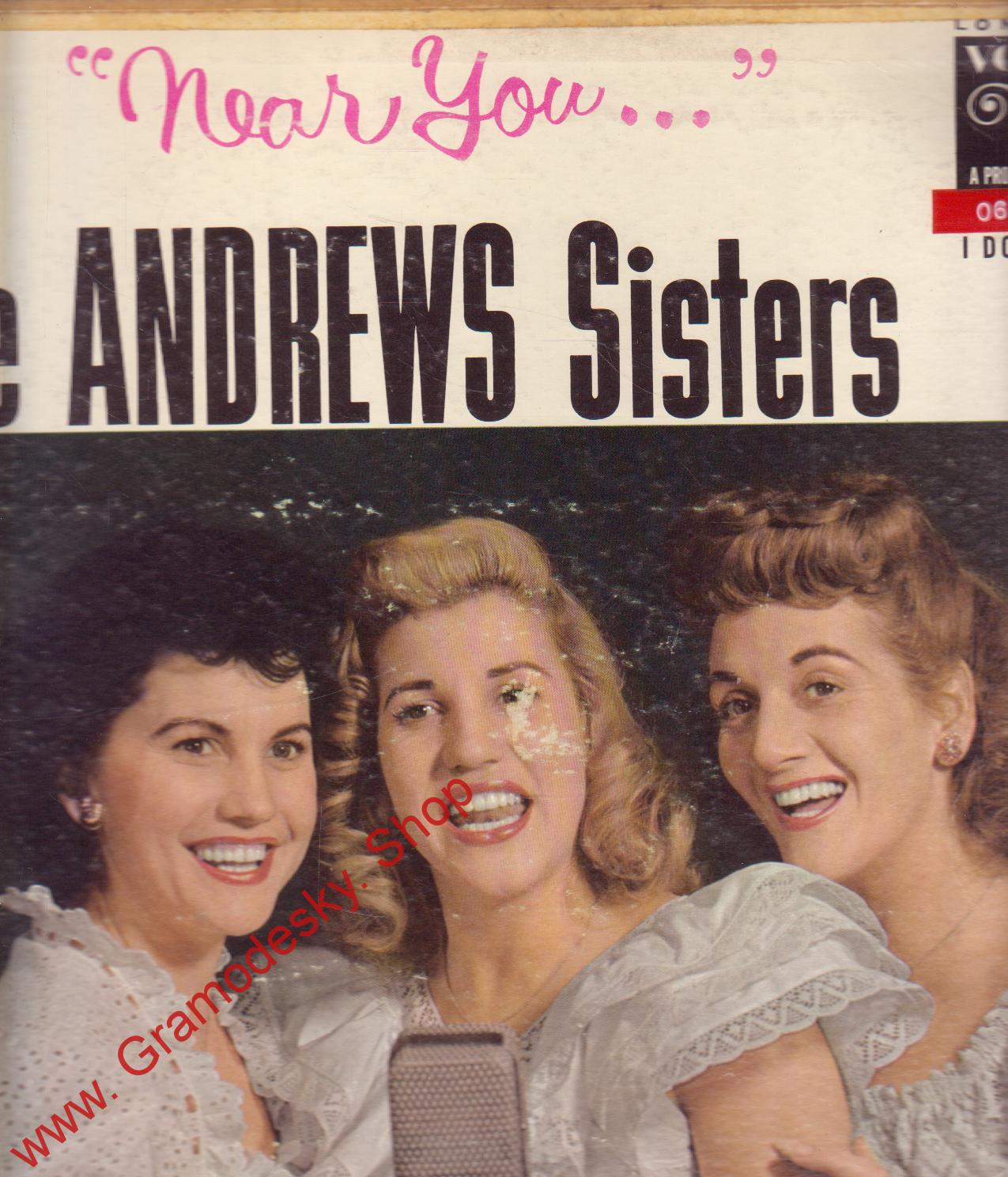 LP Near You, The Andrews Sisters, VL 3611 Decca Records
