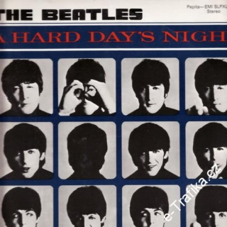 LP The Beatles - A hard day´s night, 1964