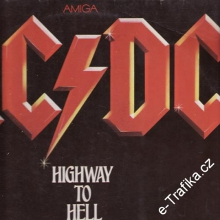 LP AC/DC, highway to hell, 1981
