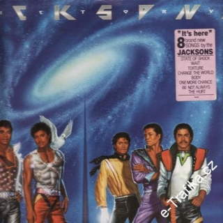 LP Jacksons, It´s here, 1984