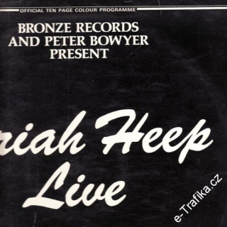 LP Uriah Heep Live, january 1973, 2album