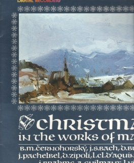 LP Christmas in The Works of Masters, Vánoce mistrů, Ferdinand Klinda, 1984