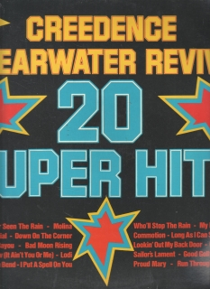 LP 20 Super Hits, Creedence Cleawater Revival, BS 45004, stereo