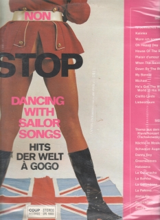 LP Non Stop Dancing With Sailor Songs, CPS 15603, stereo