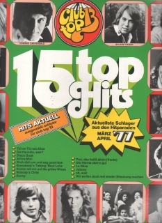 LP 15 Top Hits 1977, , 65 903 7, stereo