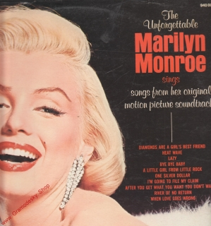 LP Marilyn Monroe, The Unforgettable, 20th Century Fox Records