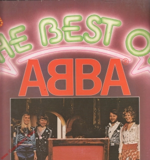 LP Abba, The Best Of, 1975, Polydor
