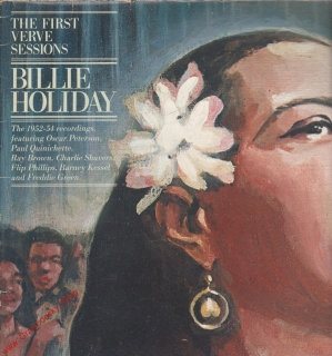 LP Billie Holiday, The First Verve Sessions, 1952