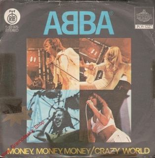 SP ABBA, Money, money, money, Crazy world, S 53975, Polar