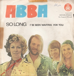 SP ABBA, So long, I' Be Been Waiting For You. , Polar