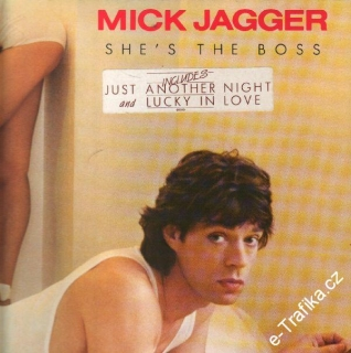 LP Mick Jagger, She's The Boss, 1985, CBS