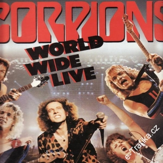 LP 2album Scorpions, World Wide Live, 1985