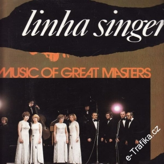 LP Linha Singers, Music of Great Masters, 1977, 9116 0441
