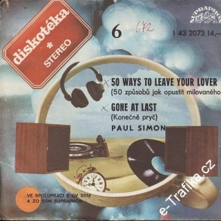 SP Diskotéka 006, Paul Simon, 50 Ways To Leave Your Lover, 1977