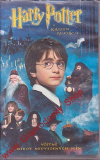 VHS Harry Potter a Kámen mudrců - 2001