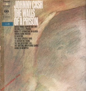 LP Johnny Cash, The Walls Of a Prison, S 52825