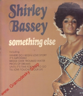 LP Shirley Bassey, Something Else, United Artist, Holland