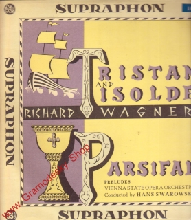EP Richard Wágner / Tristan a Isolda, Parsifal, LPM 134