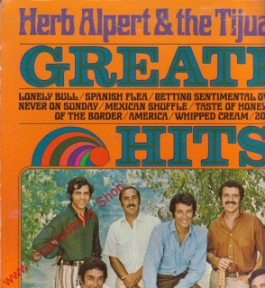 LP Herb Alpert a The Tijuana Brass, Great Hits, AM Records USA