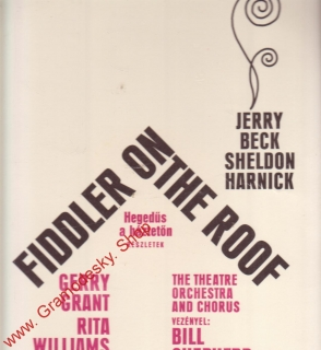 LP Fiddler On The Roof, Jerry Beck, Sheldon Harnick, LPX 17446