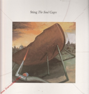 LP Sting, The Soul Cages, 1991, Popron