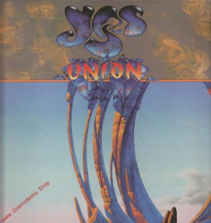 LP YES Union, 1991, Arista Records
