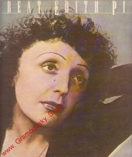 LP Edith Piaf, The Great, 1981
