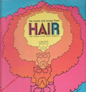 LP Hair, písně z muzikálu, The Tribal Love Rock Musical, Printed in Canada