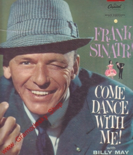 LP Frank Sinatra, Come Dance With Me! with Billy May, W 1069 Capitol