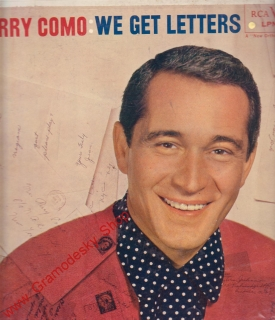 LP Perry Como, We Get Letters, LPM 1463