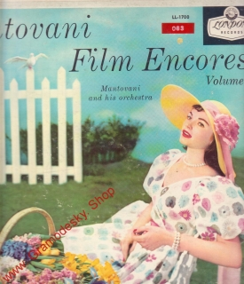 LP Mantovani film Encores Volume 1, LL 1700, 1956