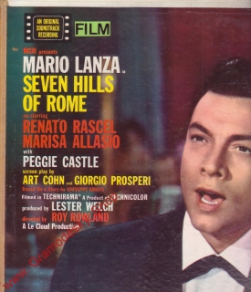 LP Mario Lanza Seven Hills Of Rome with Peggie Castle, 1958, LM 2211