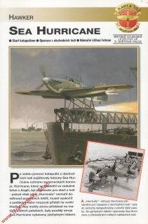 Skupina 10, karta 033 / Sea Hurricane Hawker / 2001