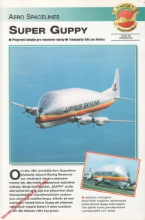 Skupina 8, karta 001 / Super Guppy Aero Spacelines / 2001