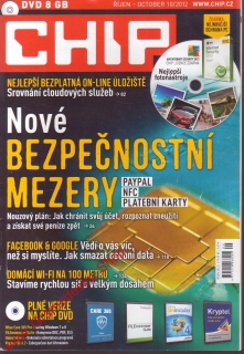 2012/10 Časopis Chip + DVD