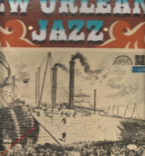 LP 2album, New Orleans Jazz, 1974, 1 15 1368-69