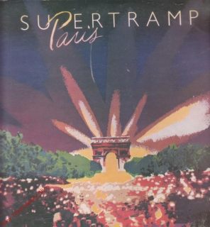 LP 2album, Supertramp Paris, AMLM 66702