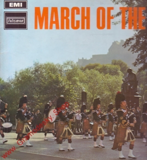 LP March of the Pipers, Edinburgh City Police, 1962, Talisman