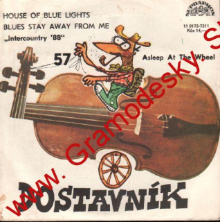 SP 057 Dostavník Asleep At The Wheel, Intercountry '88