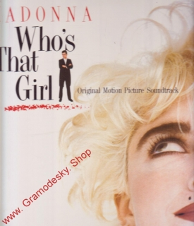 LP Madonna Who´s That Girl, original Motion Picture Soundtrack, 1987, WB