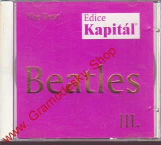 CD Beatles III, The Best, edice Kapitál, 1999