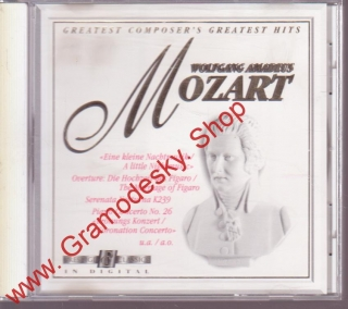 CD Wolfgang Amadeus Mozart, Greatest Hits, 1994