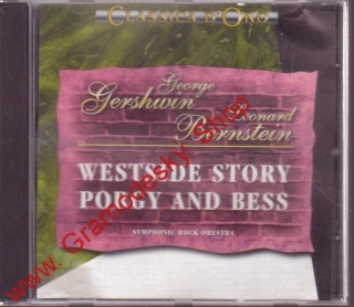 CD George Gershwin, Leonard Bernstein, Westside Story Porgy and Bess, 1994