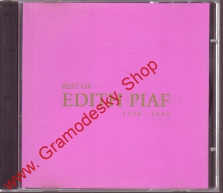 CD Edith Piaf 1936 - 1946, Best of,
