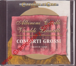 CD Albioni, Corelli, Locatelli, Vivaldi, 1994