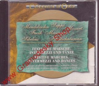 CD Mendelssohn, Suppé, Mozart, Sibelius, 1994