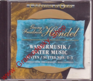 CD Georg Friedrich Handel, Water music, 1994