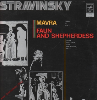 LP Igor Stravinsky, Mavra, Faun and Shepherdess, Melodia
